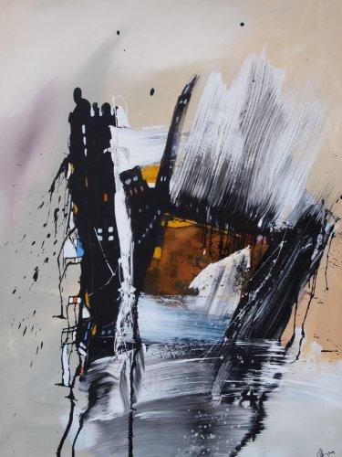 Hamburg 1 - Mixed Media - 100 x 80 cm - 2014