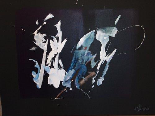 Serie ''Some Problems'' - Mischtechnik auf Leinen - 60 x 80 cm